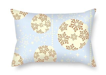Navidad manta fundas de almohada 12 x 50,8 cm/30 por 50 cm