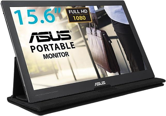 Asus Mb169c 39 6 Cm Monitor Schwarz Computer Zubehör