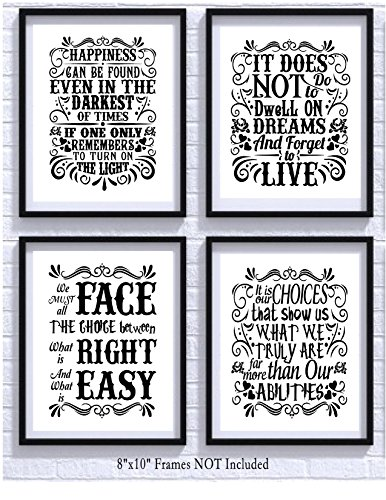 Картина Harry Potter Quotes and