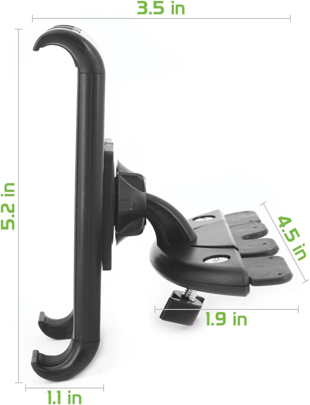 S10e S9 S9 Plus S8 S8 Active S7 S6 J7 V J5 J3 V J1 A6 Grand Prime On5 Express 3 Amp Prime 3 S6 Edge Cellet CD Slot Mount Car Phone Holder Cradle Compatible for Samsung Note 10 9 8 5 Galaxy S10 S10