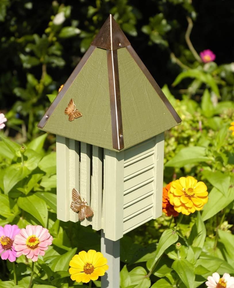 Heartwood Flutterbye Butterfly House in Celery