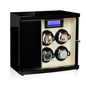 Modalo - Luxurious Watch Winder - LCD Touch Screen - Winds up to 4 Watches +