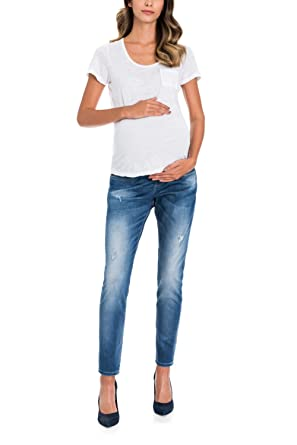 722701bd297f3 Salsa Maternity Relaxed Jeans - Hope: Amazon.co.uk: Clothing