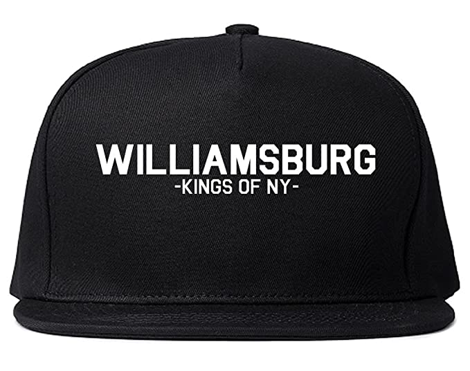 Amazon.com  Kings Of NY Williamsburg Brooklyn Hipster Snapback Hat ... f195ba0e9bd