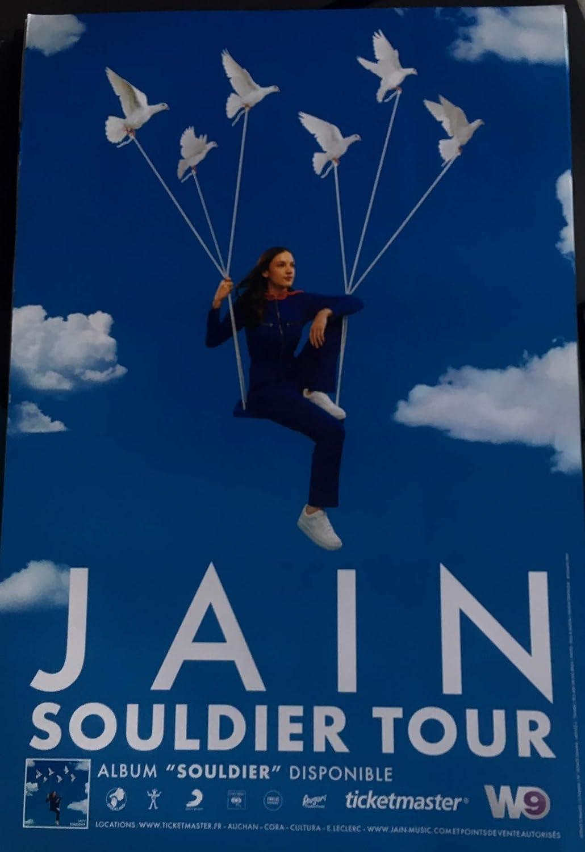 Poster Jain - Soldier Tour - 40x60cm - Affiche: Amazon.fr: Cuisine & Maison