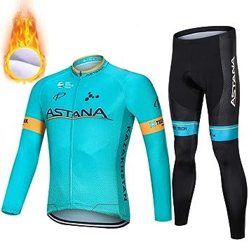 FREEMY Ropa de Ciclismo Polar, Nueva Ropa térmica de Bicicleta de ...