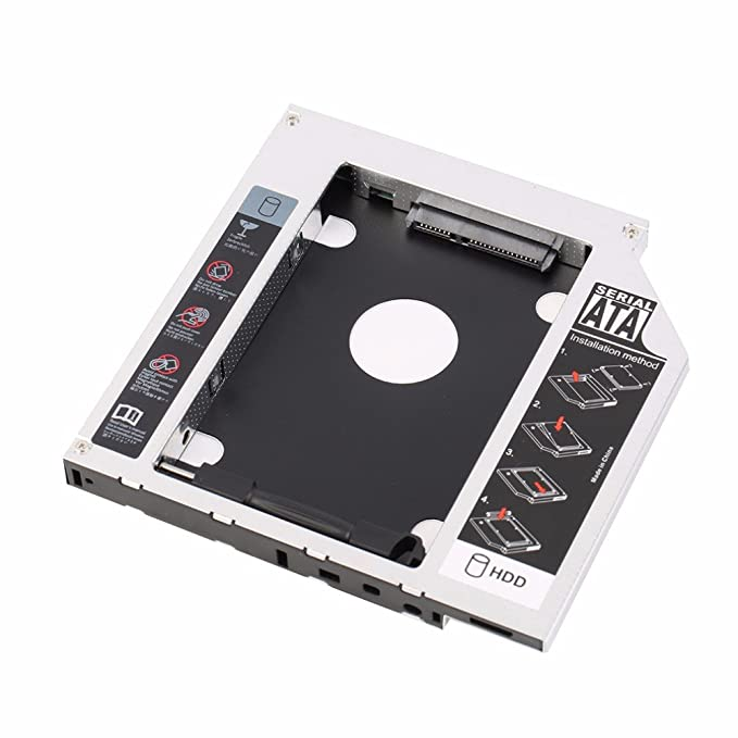 SAIENTE - Soporte para Disco Duro SATA de 9,5 mm para Ordenador ...