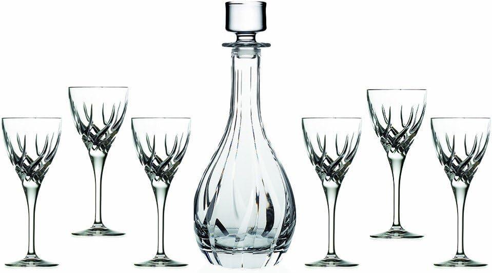 Lorren Home Trends RCR Trix Wine Set, 7-Piece