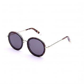 XW Gafas de Sol Al Aire Libre Mujer Océano Película Gafas Miopía Marco Redondo Gafas de Sol Retro a Través de Los Ojos de Color,Mi,Adulto: Amazon.es: ...