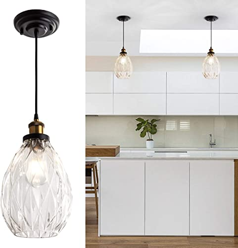 Modern Glass Pendant Hanging Lighting