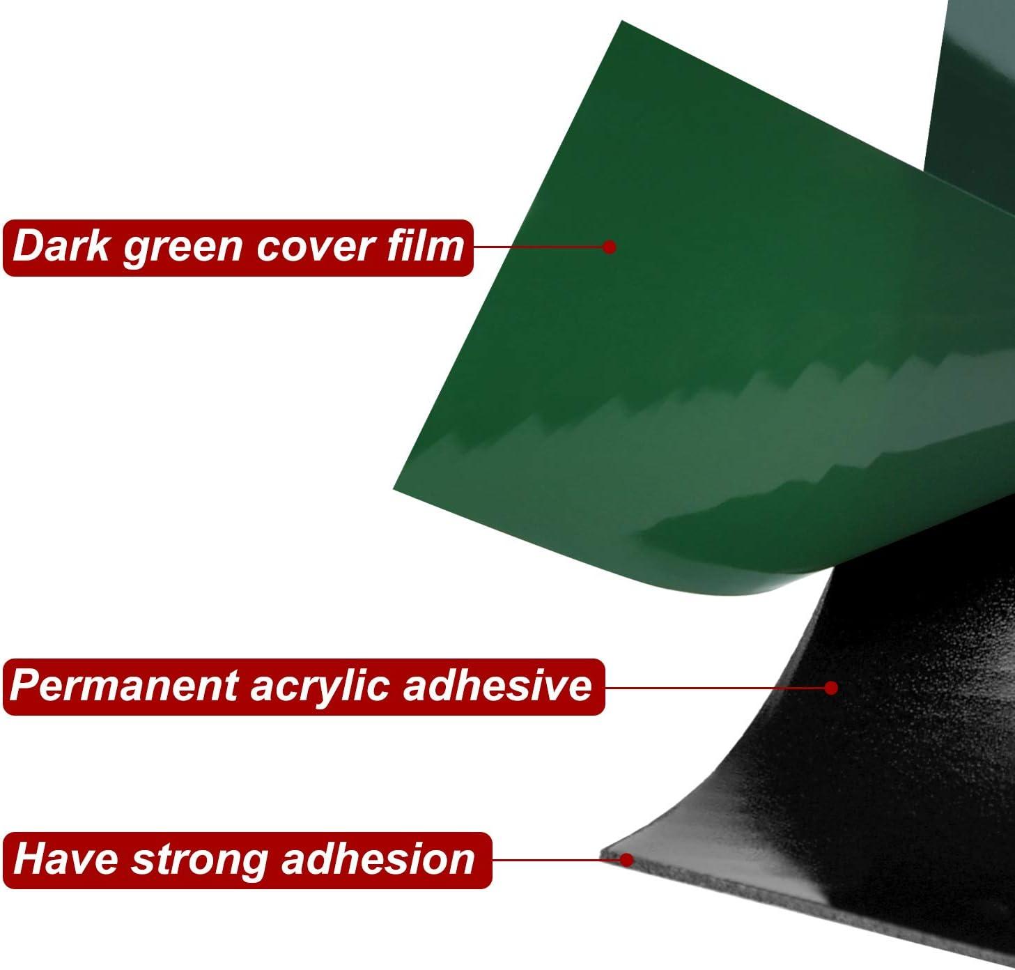 10 m cada rollo negro FEPITO Cinta de espuma de 40 m Cinta de esponja de doble cara Cinta de adhesivo de montaje a prueba de agua Rollos de placas de grado automotriz Embellecedores de autom/óviles