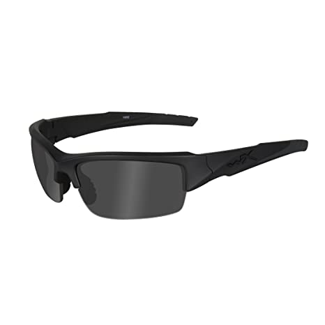 Wiley X - Gafas Protectoras WX Valor, Color Negro Mate, S/L ...