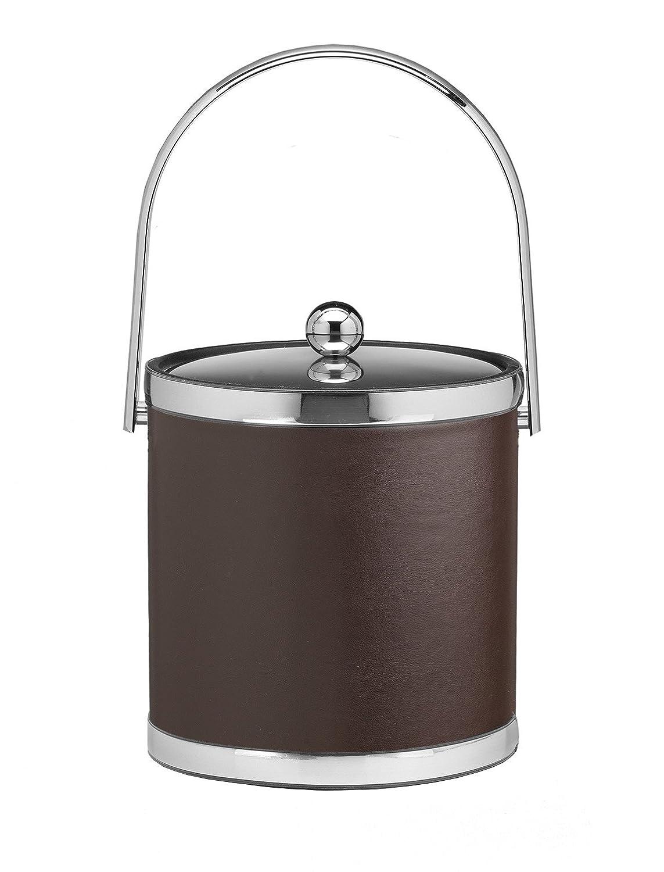 Kraftware Vinyls and MYLARS Ice Bucket 3 Quart White 50454