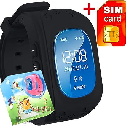 Amazon.com: GBD Smart Watch para niños con tarjeta SIM ...