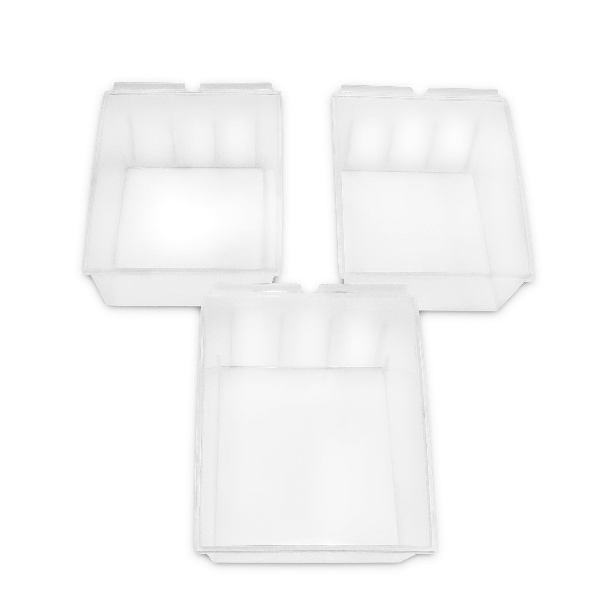 Proslat 3230 Probin Storage Bin Designed for PVC Slatwall, Large, 3-Pack