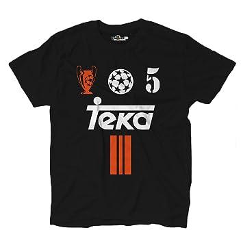 KiarenzaFD Camiseta Camiseta Fútbol Vintage Zidane Madrid 5 Temporada 01 – 02 Champion 2 Hombre,