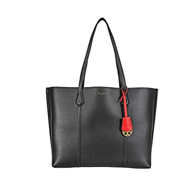 034918c20 Amazon.com: Tory Burch Perry Triple Compartment Tote in Black: Clothing