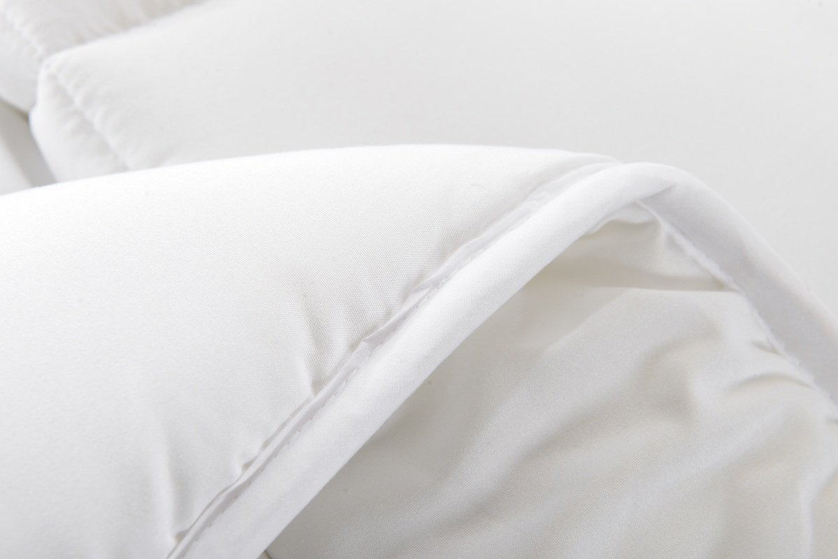 !Best Seller! Hotel Collection Down Alternative Comforter Duvet Insert - Hotel Quality Comforter Full/Queen White Solid - Hypoallergenic,Plush Siliconized Fiberfill by Spreads Galore