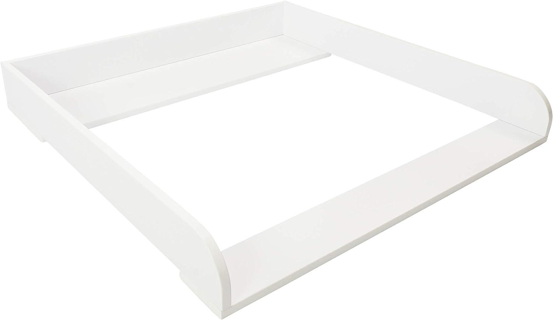 Puckdaddy Accesorio cambiador de bebés, con bordes extra redondos, para Cómoda IKEA Malm