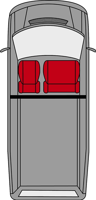 Walser 11476 Autositzbez/üge aus Kunstleder f/ür Einzelsitz und Doppelbank vorne