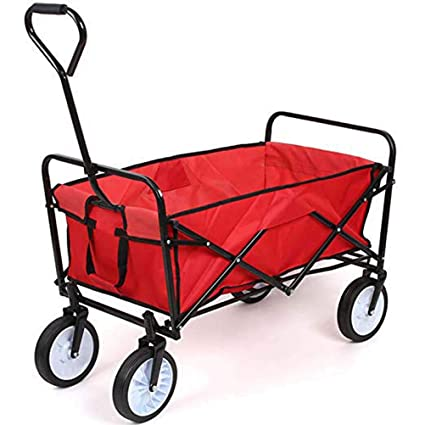 Carro para Carrito De Jardín, Carro Plegable para Varilla De Remolque Carro para Acampar Carrito