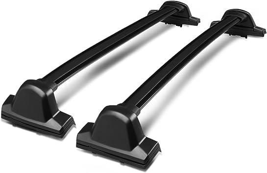 For 17-19 Honda CRV Roof Rack Cross Bar OE Style Bars Black Mount Bolt Aluminum