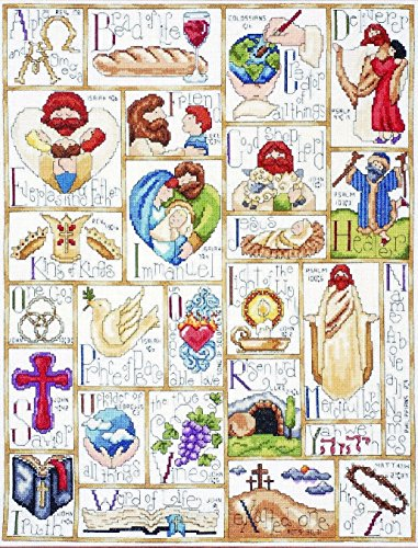 rational ABC Counted Cross Stitch Kit, 16 by 20-Inch ()