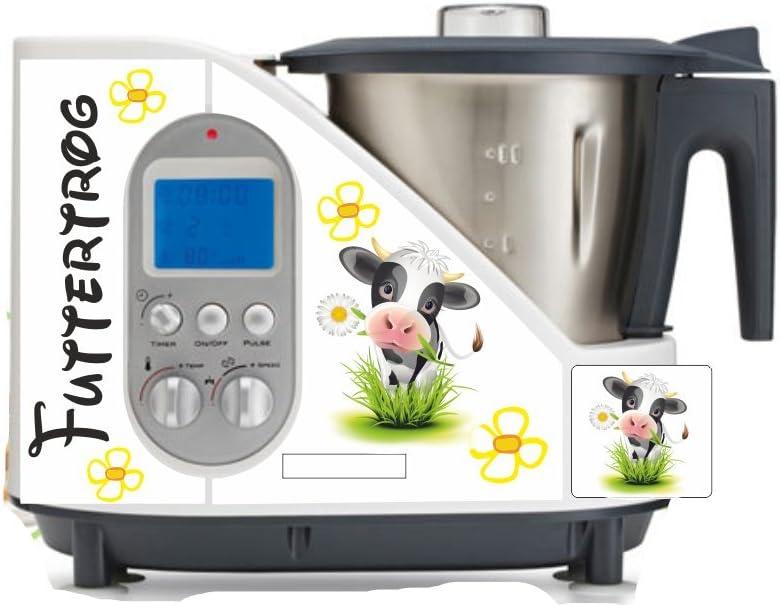 Robot de cocina pegatinas para alimentar caballos, Vaca para SC 100