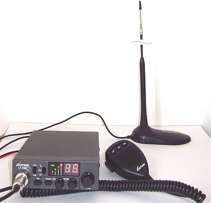 Luiton LT-298 Two-way Radio de dos vías CB 27 MHz AM/FM ...