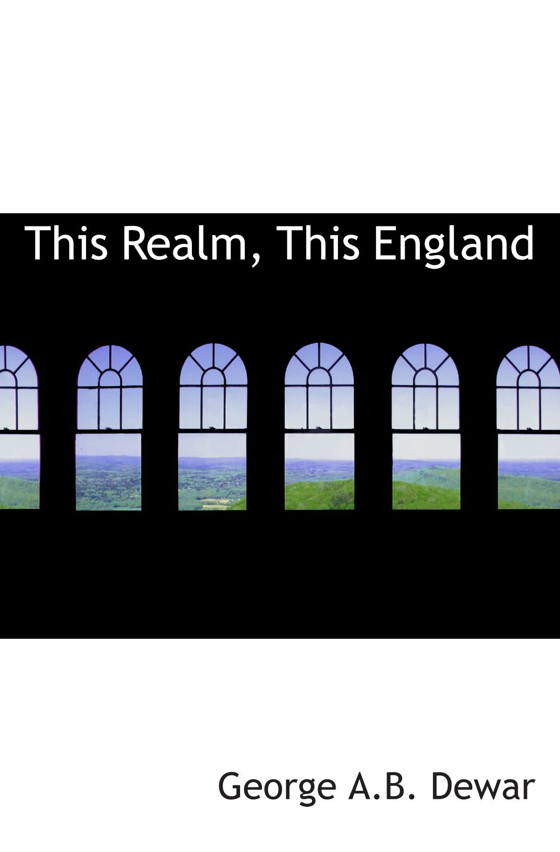 Download This Realm, This England pdf