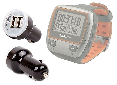Chargeur voiture pour montre connectée Garmin Forerunner 110 et 310XT, podomètre Fitbit ONE, Flex: Amazon.fr: High-tech