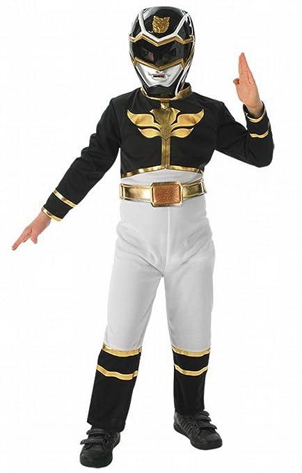 Black Power Ranger Flat Chest Kost/üm Gr/ö/ße S Rubies 3887759