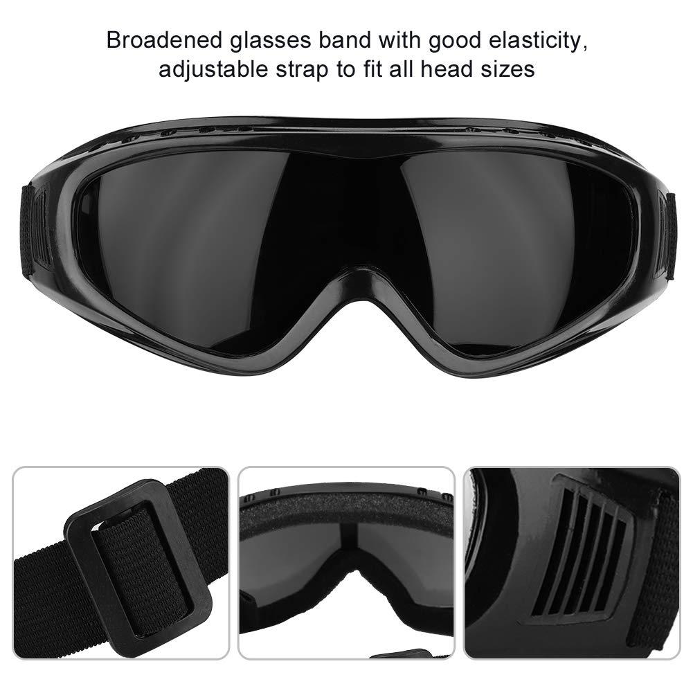 Lente Colorida Qinlorgo Gafas de Seguridad contra Salpicaduras Gafas Protectoras de Trabajo Anti-Arena