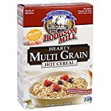 Hodgson Mill Multi Grain Hot Cereal Quinoa and  Milled Flax Seed, 16 Ounce (Pack of 6), Heart-Healthy Hot Breakfast Cereal for a Wholesome Start to Your Morning, Enjoy With Fresh Fruit
