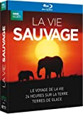 La Vie Sauvage: Le Voyage De La Vie + 24 Heures Sur La Terre + Terres De Glace [Blu-ray]