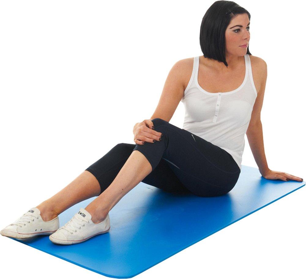 Creativeminds UK Workout Gym Übung & Fitness Yoga Pilates Accessoires aus Duraflex Individuelle Matte blau
