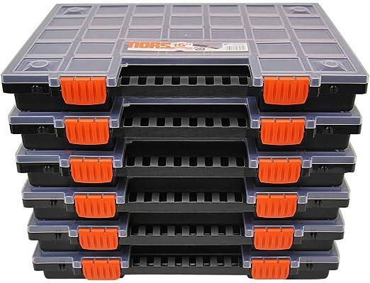 Sortierkiste Sortimentskasten 17 Fächer Kasten für Kleinteile Sortierkasten