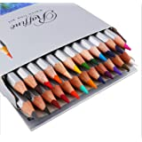 Marco Raffine Assorted Professional Drawing Colored Pencils Set Oil Base Non-toxic Lead-free Sketches Painting School Pencil Colored Pencils for Adult Kids Coloring Books(24-color)