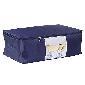 Amazon.com: Oxford Quilt Storage Bags,Beddings/Blanket Organizer ... : quilt storage bags - Adamdwight.com