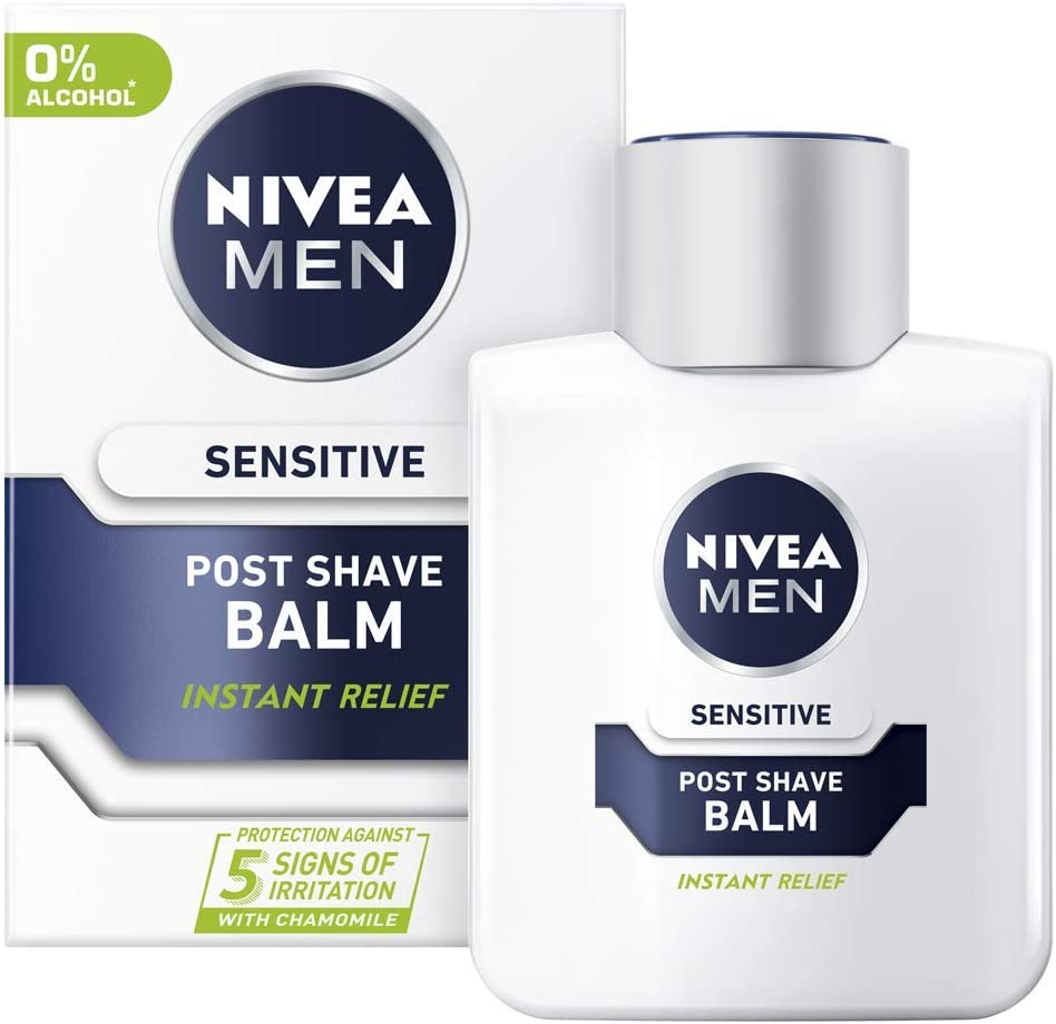 Nivea Men After Shave Balm Sensitive 100 ML Made in Germany ...