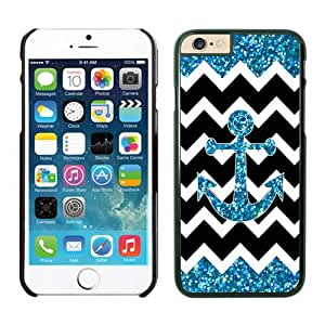 Anchor Chevron iPhone 6 plus Cases 5.5 inches Black