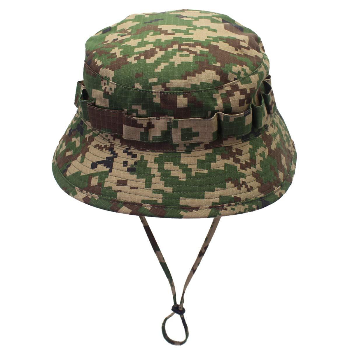 DORRISO Cappello da Pesca Antivento UPF 50+ Protezione UV Attività  Escursionismo Vacanza Arrampicata Campeggio All aperto Safari Hat ed03fa7ac604