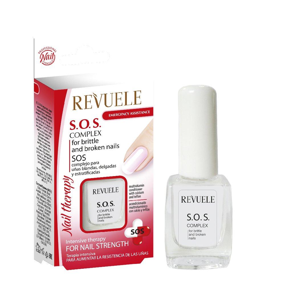 revuele SOS complessa per le unghie morbide, sottili e délaminés 10ml
