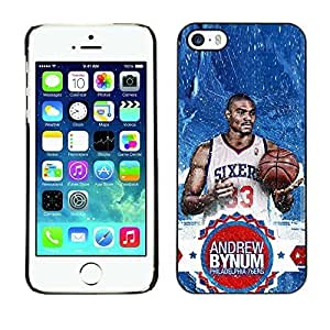 BasketCase Andrew Bynum Philadelphia 76ers Basketball For SamSung Galaxy S4 Mini Phone Case Cover / Slim 360 Protection PC / Aluminium Protector Shell Rugged Kimberly Kurzendoerfer