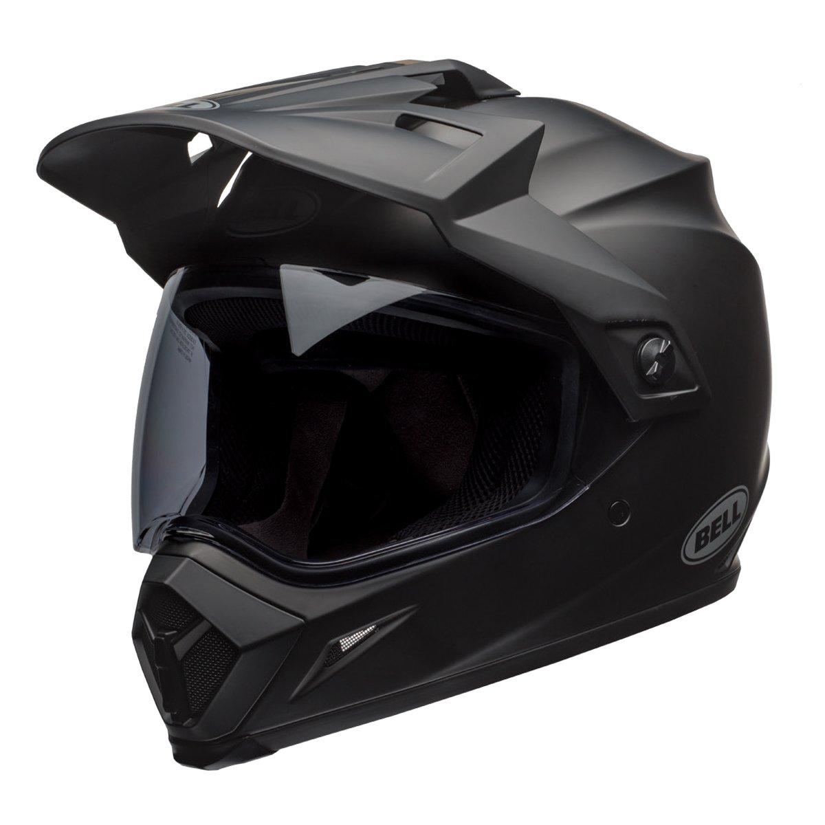 Bell MX-9 Adventure MIPS Full-Face Motorcycle Helmet (Solid Matte Black, Medium)