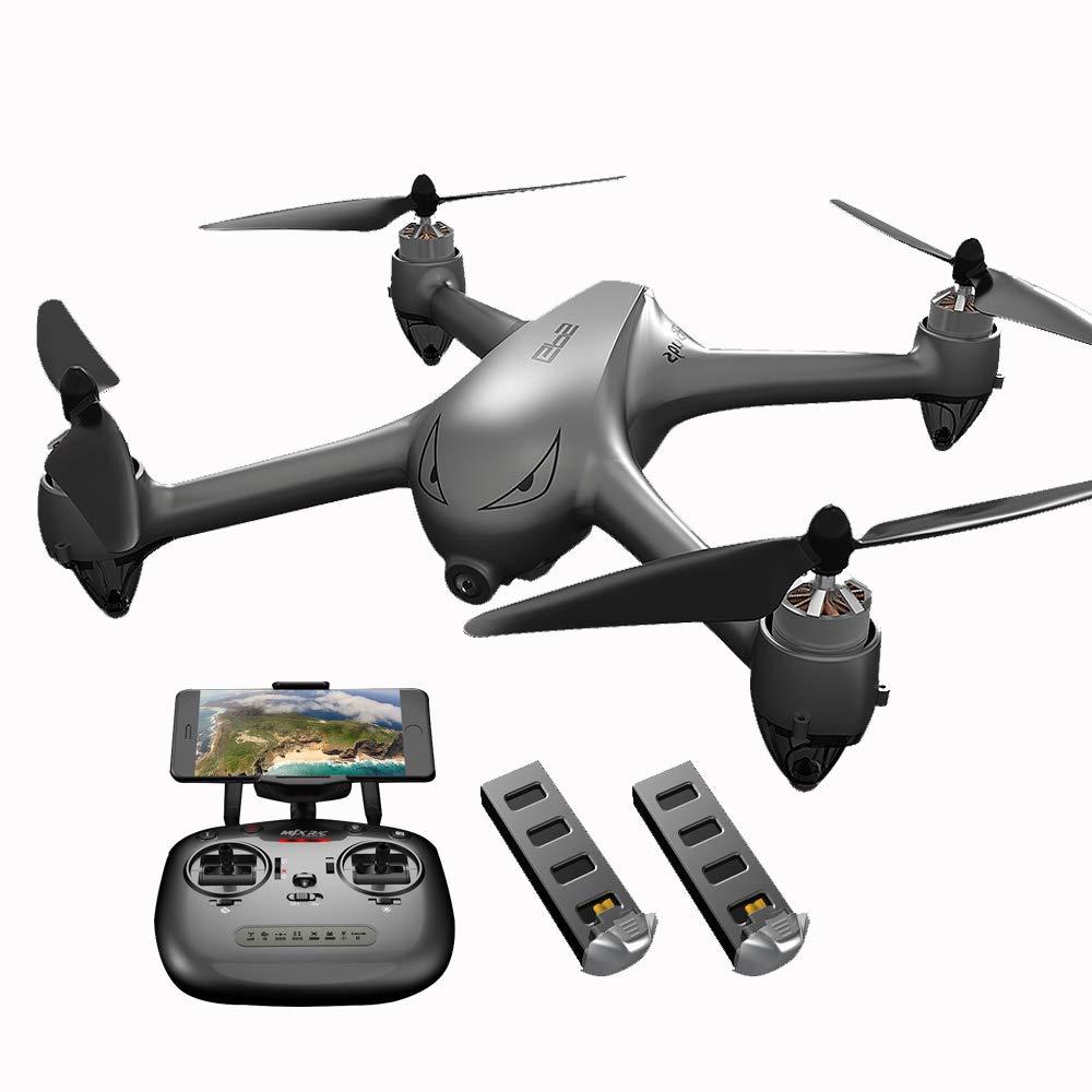 Goolsky MJX B2SE GPS RCドローン 1080Pカメラ付き 5G Wifi FPV ブラシレス クワッドコプター(2電池付き) B07LFC26VM