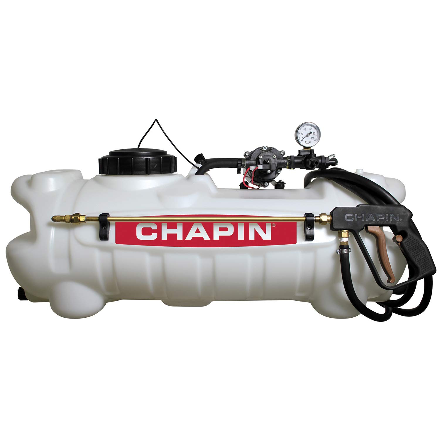 Chapin 97300 15-Gallon 12v Deluxe Dripless EZ mount ATV Spot Sprayer
