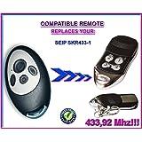 SEIP SKR433-1 Compatible Télécommande. Émetteur de remplacement compatible 433,92Mhz Rolling code!!!