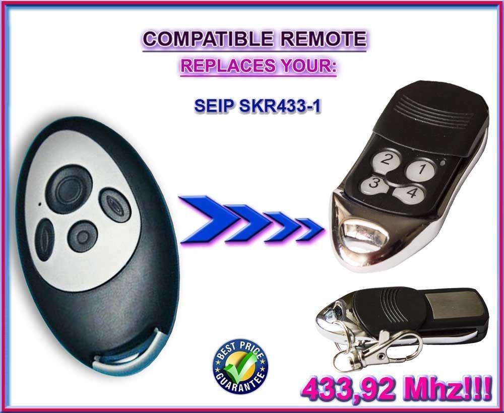 Beste Preis!!! SEIP SKR433-1 kompatibel handsender ersatz fernbedienung 433.92Mhz rolling code!!