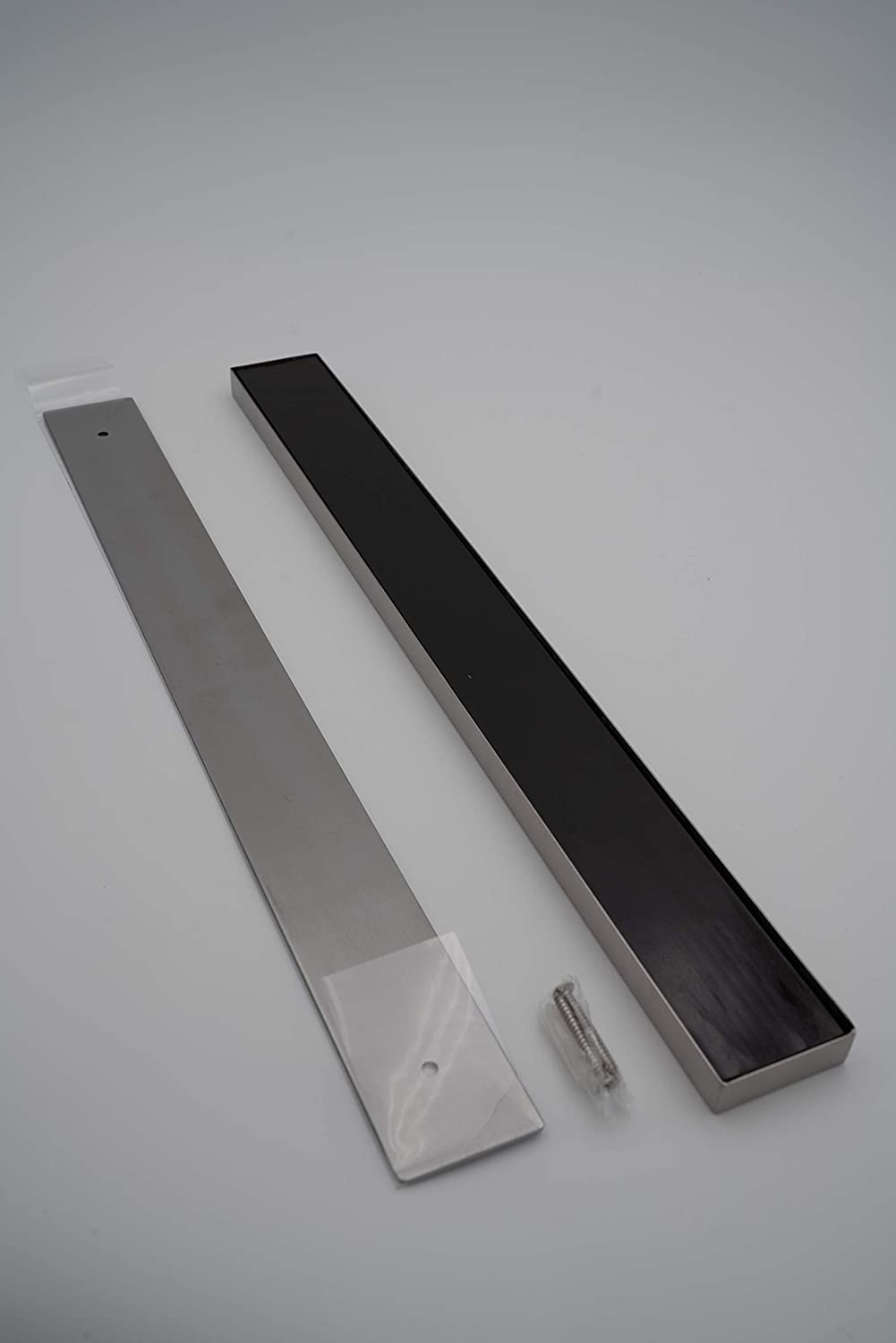 Best Magnetic Knife Strip - Stainless Steel 16 Inches - includes Bonus 3 Stainless Steel Finger Guards